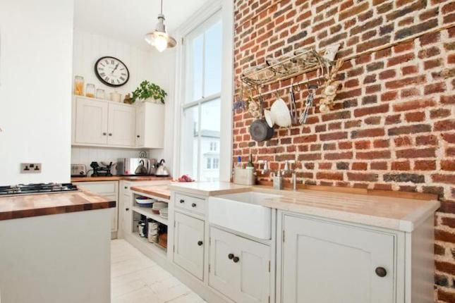 Exposed Brick Kitchen Kitchen Pinterest