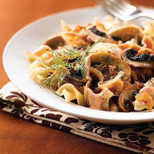 clean portobello mushroom stroganoff | Pasta and Italian dishes! | Pi ...