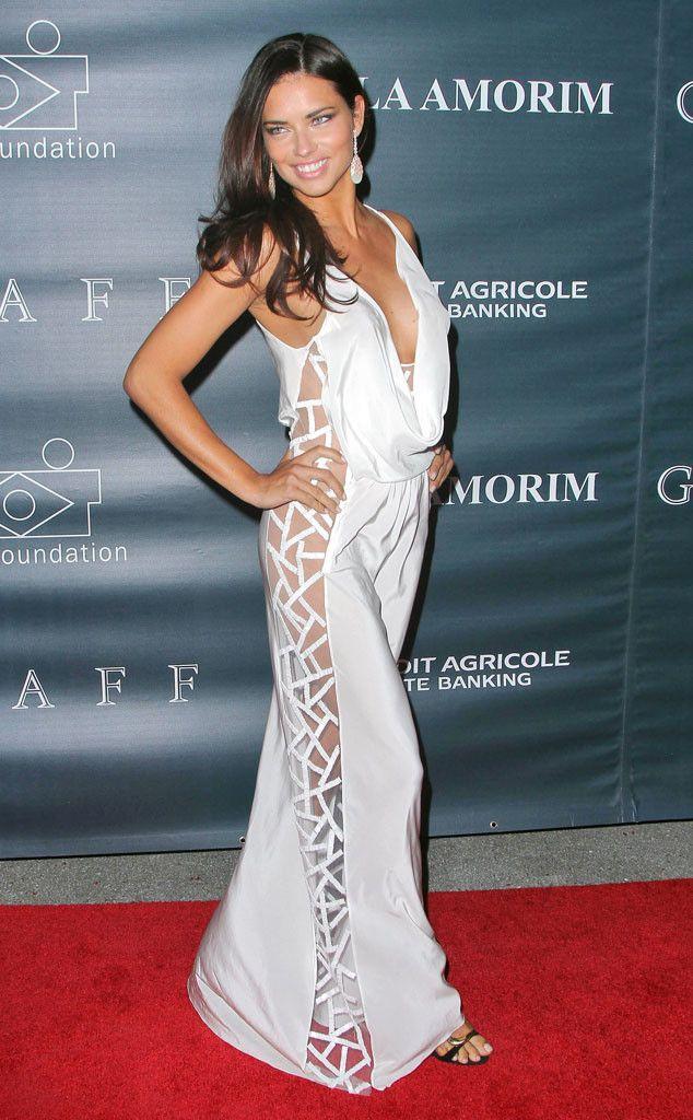 Адриана лима в платье