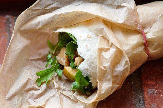 Recipe: Arugula, Apple & Chickpea Salad Wraps — Recipes from The ...