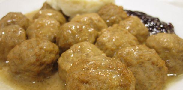 Swedish Meatballs - old school good | yum | Pinterest