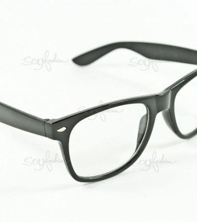Glasses Frames Thick Black : thick black frame glasses How Lovely To Be A Woman ...