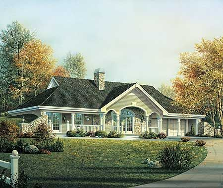 Earth berm home plan with style for Berm home plans