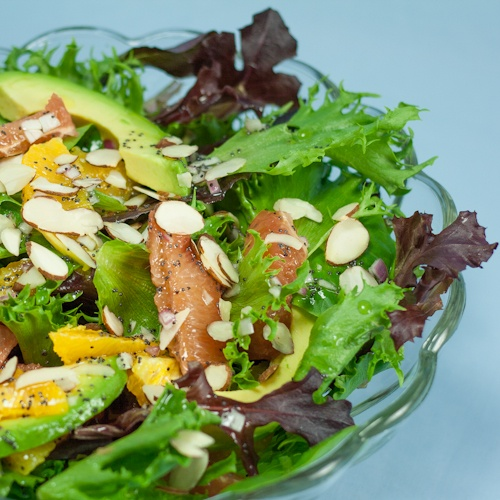 Avocado Citrus Salad After too many holiday treats I'm craving a salad ...