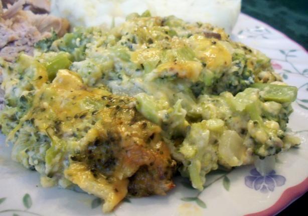 Broccoli-Cheese Casserole | Recipe
