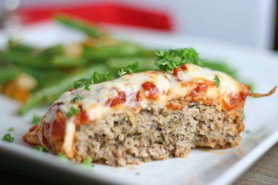 Chicken Parmesan Meatloaf | Food | Pinterest