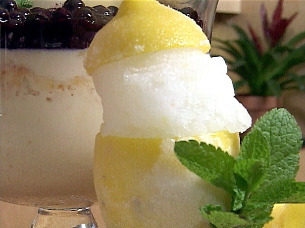 Soft Lemon Italian Ice (Water Ice)