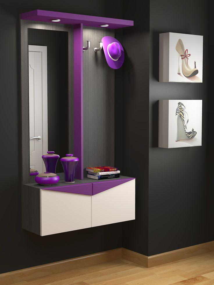 Decoracion mueble sofa recibidores a medida - Recibidores con espejo ...