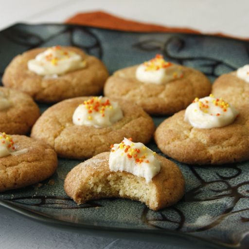 Snicker Doodles with Cream Cheese Topping -- From the web site's ...