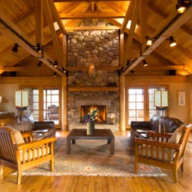 Cabin Decor Up North Pinterest