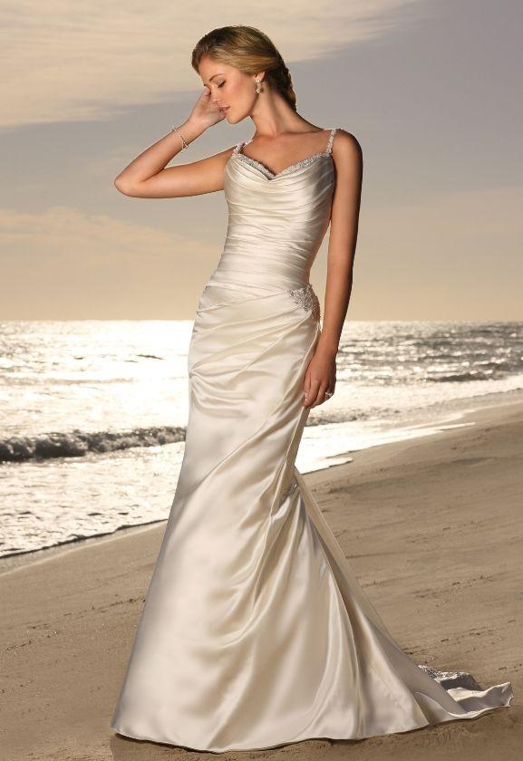 Stylish Beach Wedding Dresses : Stylish beach wedding dresses themed