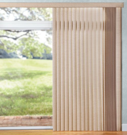 Levolor® Vinyl Vertical Blinds: S-Curved Grass Weave #blinds are good ...