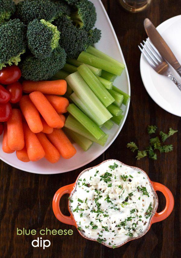 Blue Cheese Dip {Healthier Version}
