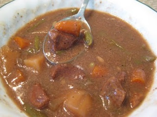 Freezer crockpot dinner. Beef stew