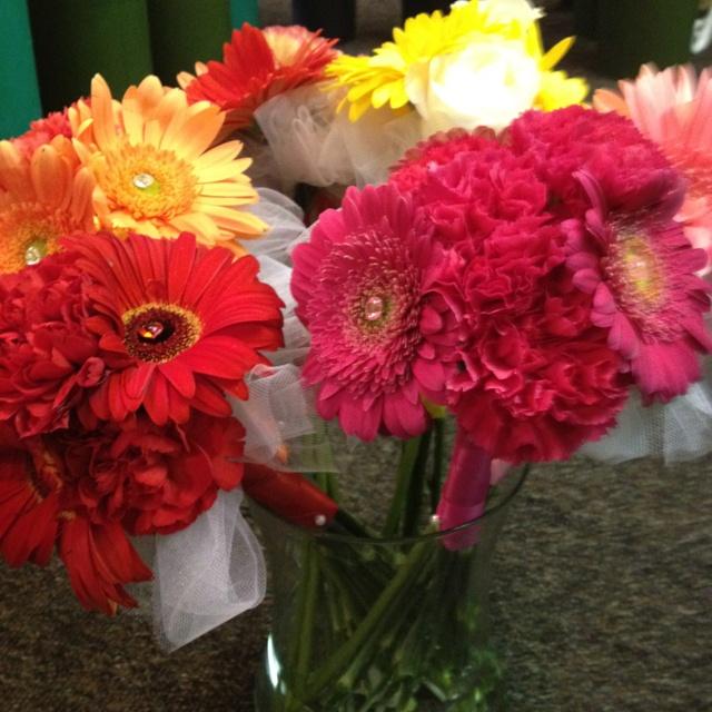 Ballerina bouquets