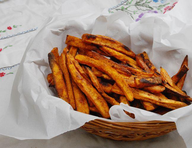 Sweet Potato Fries* | Rufus' Food and Spirits Guide
