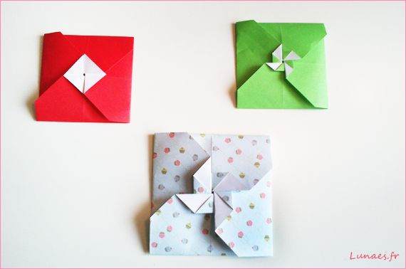 Diy tuto enveloppe carre origami envelopes letter folding pinte - Comment faire des origami ...