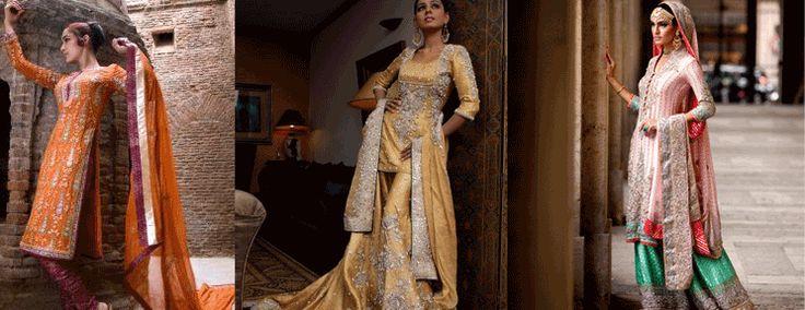Boutique, Indian bridal wear, Pakistani bridal wear, lehenga choli ...