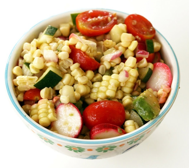 Coconut & Lime: recipes by Rachel Rappaport: Vibrant Corn Salad with ...