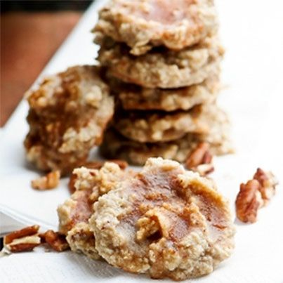 Cinnamon Glazed Maple Pecan Cookies | G-Free is the ONLY way to be ...