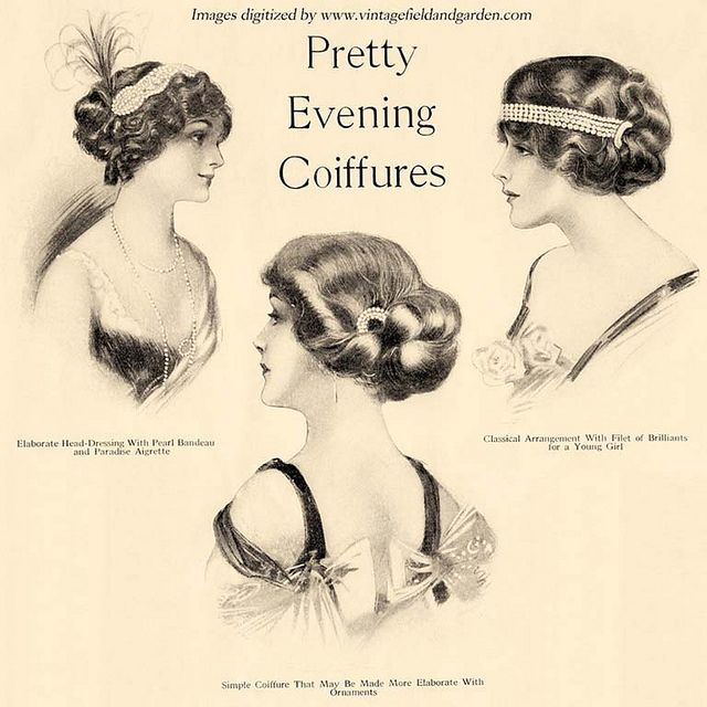 Edwardian hairstyles - might be good with orthodox crowns?