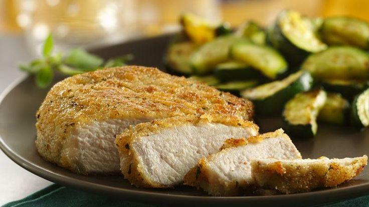 Italian Breaded Pork Chops   Recipe