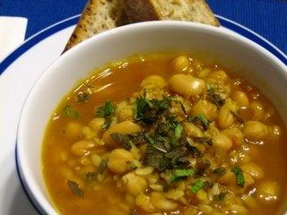 Egyptian Chick Pea & Orzo Soup   Nicole's Recipes   Pinterest