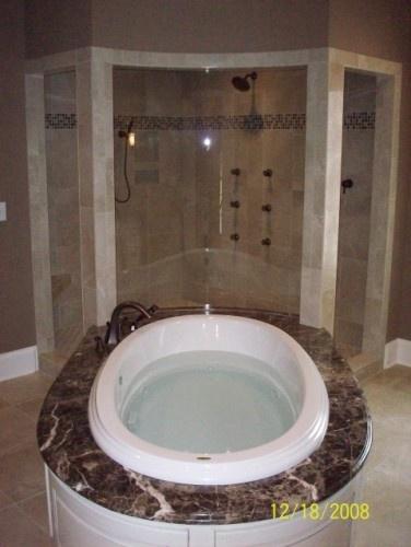 Corner Shower Tub Combo Bathroom Remodeling Ideas