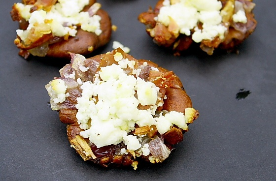 the year to make Stuffed Chanterelles with Goat Cheese and Prosciutto ...