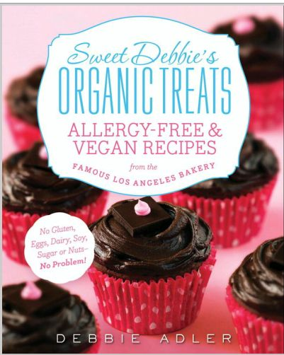 Cookbook #Giveaway! Win a copy of @Sweet Debbie's Debbie Adler's book Sweet Debbie's Organic Treats from @Christina |Sweet Pea's Kitchen http://bit.ly/1buHtly