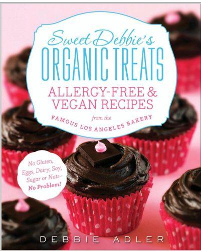 Cookbook#Giveaway! Win a copy of@Sweet Debbie'sDebbie Adler's book Sweet Debbie's Organic Treats from@Christina |Sweet Pea's Kitchenhttp://bit.ly/1buHtly