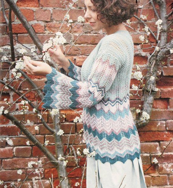 Zig Zag Sweater Knitting Pattern 3