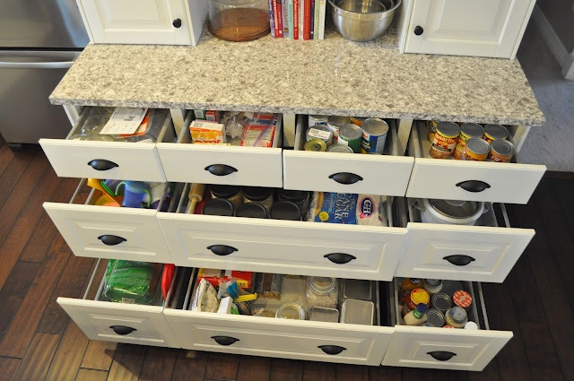 big fan of drawers vs cabinets  kitchen ideas  Pinterest
