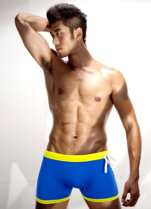 Hot lean hunk! Nice undies | WOW, IS ALL I CAN SAY | Pinterest