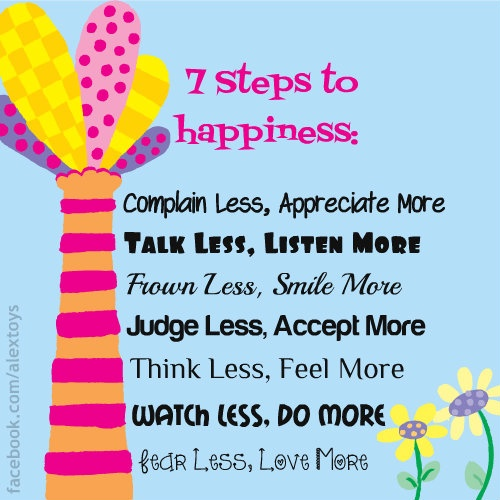 Superior Steps To Happiness Quotes. QuotesGram