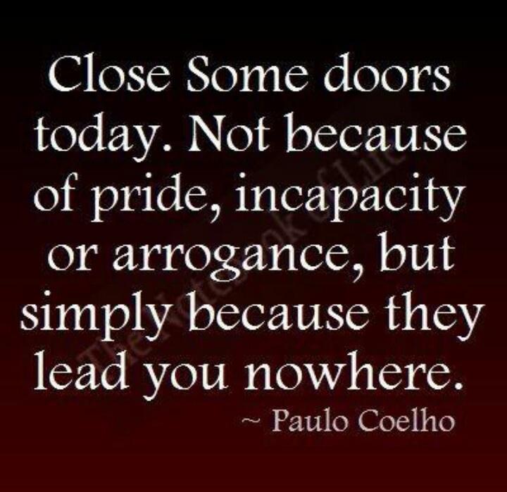 Closing Doors F : Closing doors quotes quotesgram