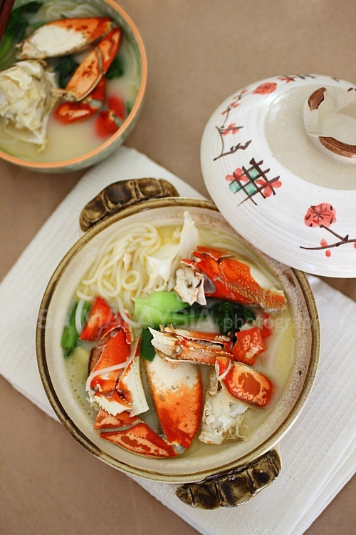 Crab Bee Hoon (Crab Noodles) #crab | EXCITING | Pinterest