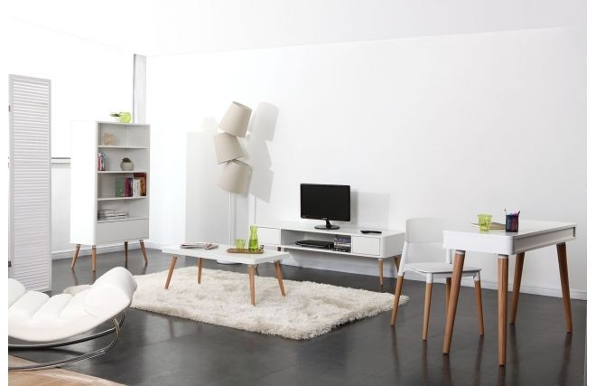 Meuble Tv Scandinave : Meuble Tv Design Scandinave Totemhome Sweet Homepinterest
