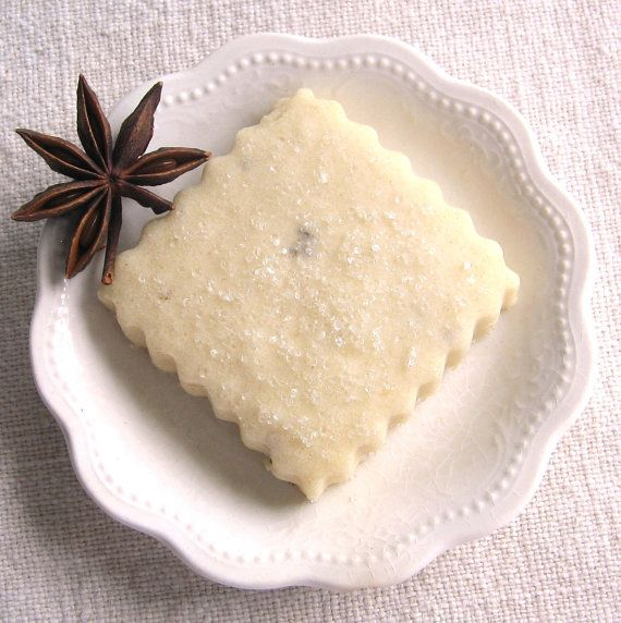 Anise Shortbread Cookies 1 Dozen by ButterBlossoms on Etsy, $12.50