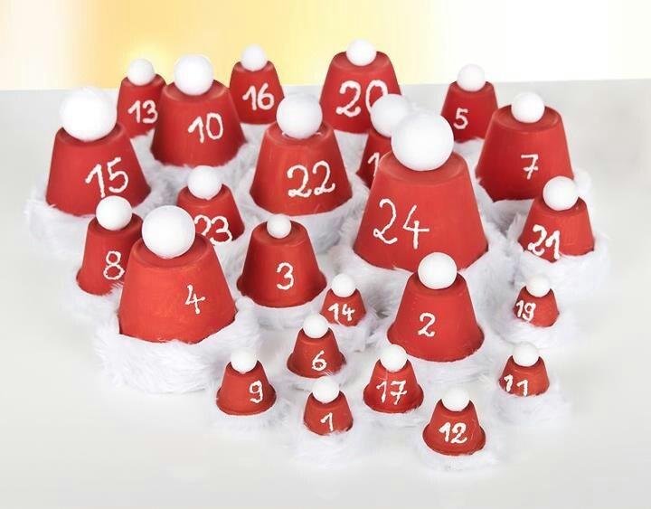 Adventskalender weihnachten pinterest for Adventskalender pinterest