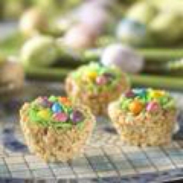 ... coconut, jelly beans and/or chocolate Easter eggs. Make these treats