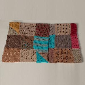 Crochet 50x70 Multi now featured on Fab.