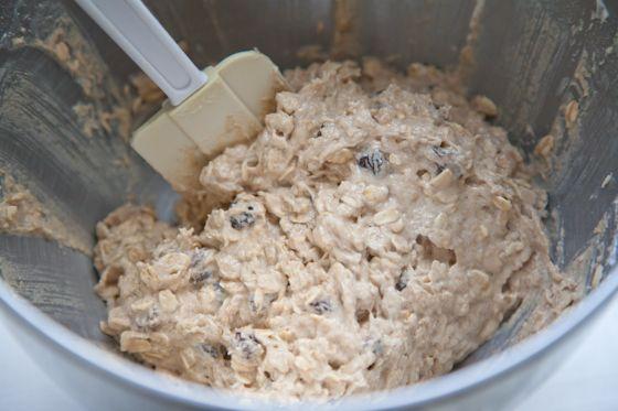 oatmeal_raisin_cookie_batter | Pickles Honey / Vegan Blog | Pinterest