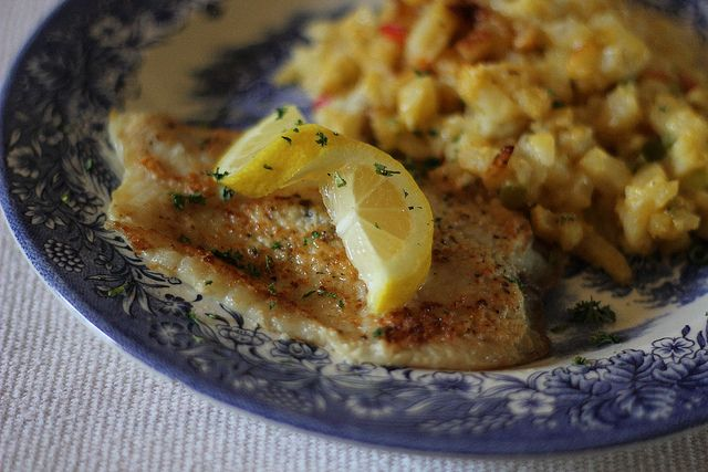 Broiled Tilapia Parmesan Recipe — Dishmaps
