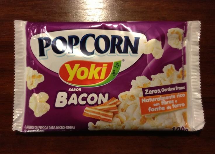 Bacon Popcorn | My Favourite Gluten Free Products | Pinterest
