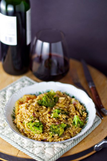 Broccoli and Orzo Risotto | Pasta, pasta, pasta, pasta, pasta, pasta ...