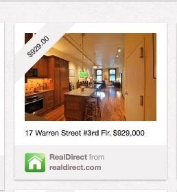 Pinterest http://pinterest.com/realdirect/favorite-real-estate/