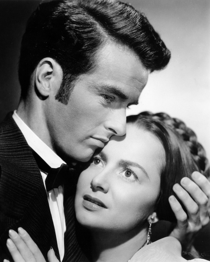Clift and Olivia de Havilland in the Movie  The Heiress  PhotoOlivia De Havilland The Heiress