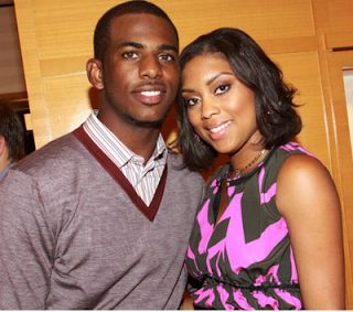 Chris paul girlfriend pregnant