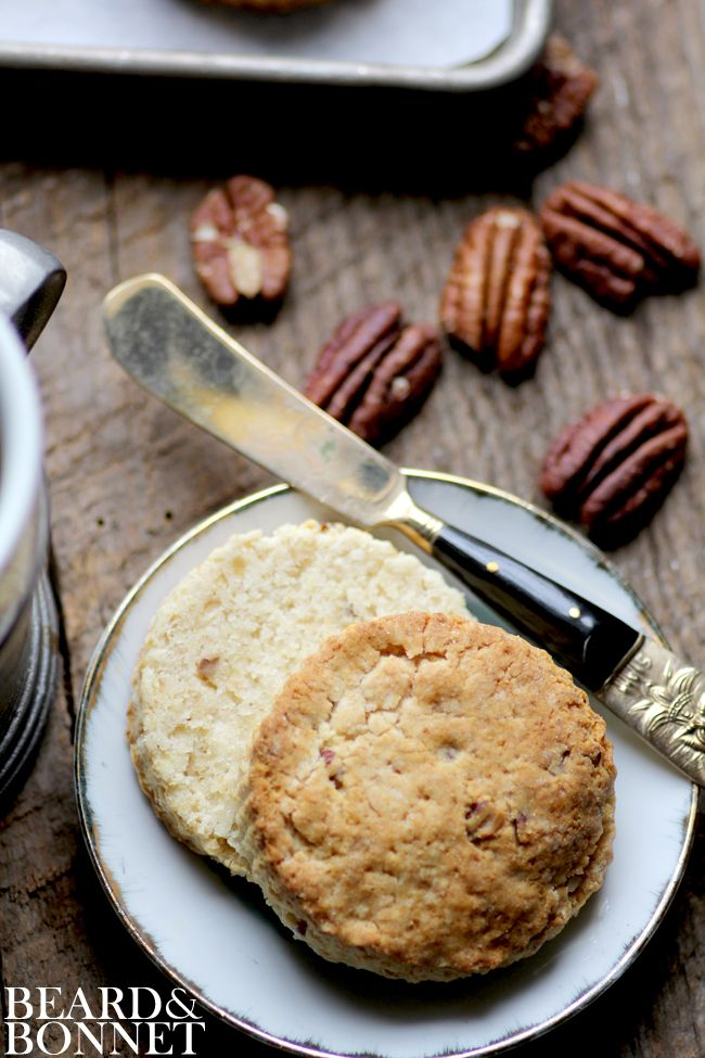 Brown Sugar and Pecan Sour Cream Biscuits {Beard and Bonnet} # ...